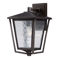 Quoizel Alfresco 1 Light Outdoor Wall Lantern in Imperial Bronze ALF8410IBFL