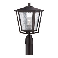 Quoizel Alfresco 1 Light Post Lantern in Imperial Bronze ALF9010IB