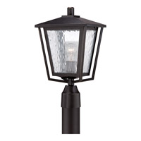 Quoizel Alfresco 1 Light Outdoor Post Lantern in Imperial Bronze ALF9010IBFL