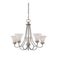 Quoizel Lighting Aliza 5 Light Chandelier in Antique Nickel ALZ5005AN