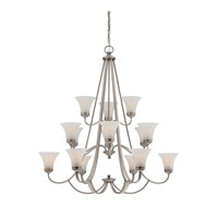 Quoizel Lighting Aliza 15 Light Chandelier in Antique Nickel ALZ5015AN