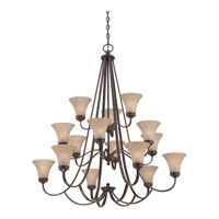 Quoizel Lighting Aliza 15 Light Chandelier in Palladian Bronze ALZ5015PN alternative photo thumbnail