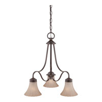 Quoizel Lighting Aliza 3 Light Chandelier in Palladian Bronze ALZ5103PN alternative photo thumbnail