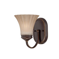 Quoizel Lighting Aliza 1 Light Bath Vanity in Palladian Bronze ALZ8601PN