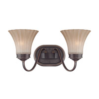 Quoizel Lighting Aliza 2 Light Bath Vanity in Palladian Bronze ALZ8602PN