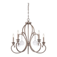 Quoizel Ambrose 5 Light Chandelier in Vintage Gold AMB5005VG