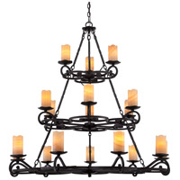 Armelle 18 Light 48 inch Imperial Bronze Foyer Chandelier Ceiling Light