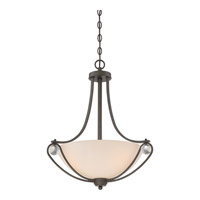 Quoizel AML2821OZ Amelia 3 Light 21 inch Old Bronze Pendant Ceiling Light