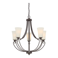 Quoizel AML5005OZ Amelia 5 Light 28 inch Old Bronze Chandelier Ceiling Light
