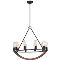 Quoizel ANR5010IB Anchor 10 Light 28 inch Imperial Bronze Chandelier Ceiling Light