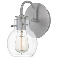 Quoizel ANW8601AN Andrews 1 Light 6 inch Antique Nickel Wall Sconce Wall Light