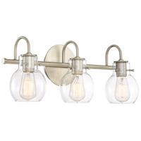 Quoizel ANW8603AN Andrews 3 Light 22 inch Antique Nickel Bath Light Wall Light  alternative photo thumbnail