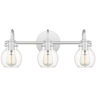 Quoizel ANW8603C Andrews 3 Light 22 inch Polished Chrome Bath Light Wall Light