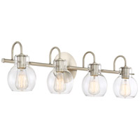 Quoizel ANW8604AN Andrews 4 Light 31 inch Antique Nickel Bath Light Wall Light alternative photo thumbnail