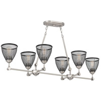 Quoizel ANX643AN Annex 6 Light 43 inch Antique Nickel Island Chandelier Ceiling Light alternative photo thumbnail