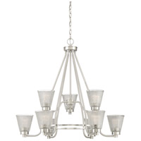 Quoizel ARD5009BN Ardmore 9 Light 31 inch Brushed Nickel Chandelier Ceiling Light