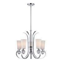 Quoizel Lighting Aldrich 5 Light Chandelier in Polished Chrome ARH5005C