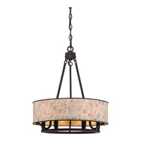 Aristocrat 6 Light 18 inch Palladian Bronze Foyer Pendant Ceiling Light