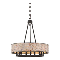 Quoizel Aristocrat 9 Light Foyer Pendant in Palladian Bronze AS2824PN
