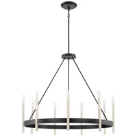 Quoizel ATH5009K Anthem 9 Light 32 inch Mystic Black Chandelier Ceiling Light