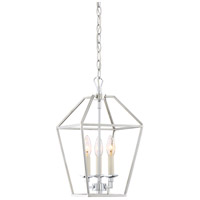 Aviary 3 Light 10 inch Polished Nickel Foyer Pendant Ceiling Light