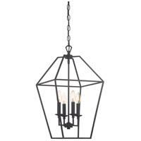 Aviary 4 Light 13 inch Palladian Bronze Foyer Pendant Ceiling Light