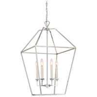 Quoizel AVY5206PK Aviary 6 Light 20 inch Polished Nickel Foyer Pendant Ceiling Light