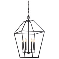 Quoizel AVY5206PN Aviary 6 Light 20 inch Palladian Bronze Foyer Pendant Ceiling Light