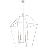 Quoizel AVY5221PK Aviary 6 Light 24 inch Polished Nickel Foyer Chandelier Ceiling Light