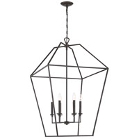Quoizel AVY5221PN Aviary 6 Light 24 inch Palladian Bronze Foyer Chandelier Ceiling Light