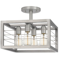 Quoizel AWD1714AN Awendaw 4 Light 14 inch Antique Nickel Semi-Flush Mount Ceiling Light