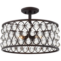 Quoizel AX1716PN Alexandria 3 Light 16 inch Palladian Bronze Foyer Piece Ceiling Light