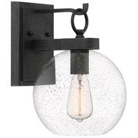 Quoizel BAE8409GK Barre 1 Light 13 inch Grey Ash Outdoor Wall Lantern