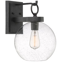 Quoizel BAE8410GK Barre 1 Light 15 inch Grey Ash Outdoor Wall Lantern