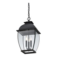 Quoizel BAN1911K Bain 3 Light 12 inch Mystic Black Outdoor Hanging Lantern alternative photo thumbnail