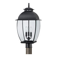Quoizel Lighting Bain 3 Light Post Lantern in Mystic Black BAN9011K alternative photo thumbnail
