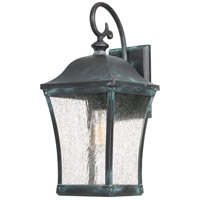 Quoizel BDS8408AGV Bardstown 1 Light 18 inch Aged Verde Outdoor Wall Lantern