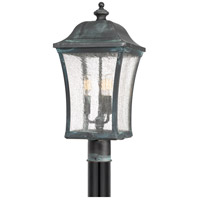 Quoizel BDS9010AGV Bardstown 3 Light 25 inch Aged Verde Outdoor Post Lantern