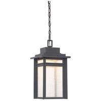 Quoizel BEC1909SBK Beacon 9 inch Stone Black Outdoor Hanging Lantern