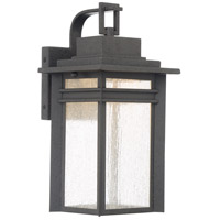 Beacon 15 inch Stone Black Outdoor Wall Lantern