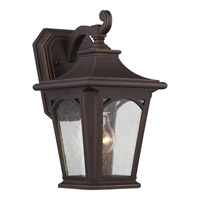 Quoizel Bedford 1 Light Outdoor Wall Lantern in Palladian Bronze BFD8407PNFL