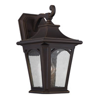 Quoizel Bedford 1 Light Outdoor Wall Lantern in Mystic Black BFD8408PN