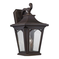 Quoizel Bedford 1 Light Outdoor Wall Lantern in Palladian Bronze BFD8410PNFL