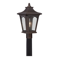 Quoizel Bedford 1 Light Outdoor Post Lantern in Palladian Bronze BFD9010PNFL