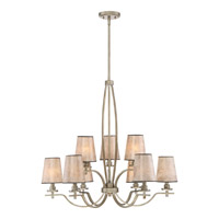 Belhaven 9 Light 31 inch Vintage Gold Foyer Chandelier Ceiling Light
