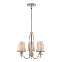 Quoizel Belhaven 3 Light Mini Chandelier in Vintage Gold BHN5303VG