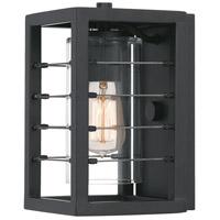 Quoizel BIM8406EK Bimini 1 Light 10 inch Earth Black Outdoor Wall Lantern