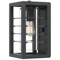 Quoizel BIM8407EK Bimini 1 Light 13 inch Earth Black Outdoor Wall Lantern