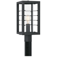 Quoizel BIM9008EK Bimini 1 Light 18 inch Earth Black Outdoor Post Lantern