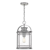 Quoizel BKR1910IA Booker 1 Light 11 inch Industrial Aluminum Outdoor Hanging Lantern